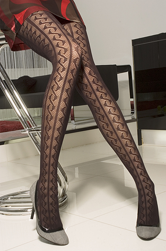T3 BLACK DOT PATTERNED LIGHT OPAQUE TIGHTS / HOSIERY | eBay