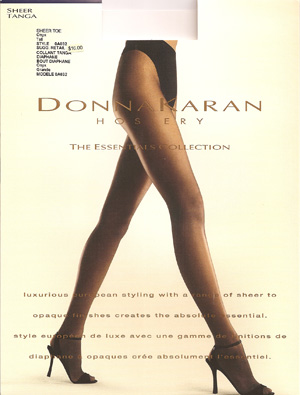 Donna Karan Essential Collection Sheer Tanga