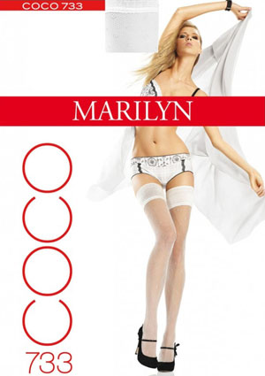 Marilyn Coco Fishnet Thigh Highs