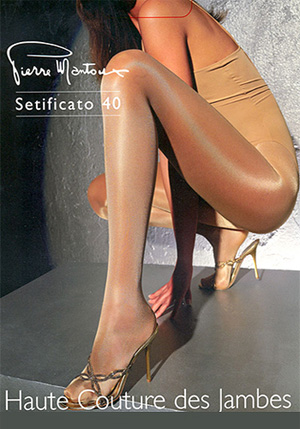 6cc93c130 Pierre Mantoux Setificato 40 Tights