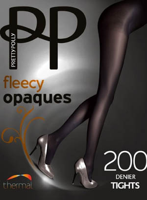 Pretty Polly Fleecy Opaque Tights