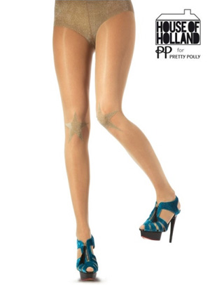 Pretty Polly House of Holland Knee Star Tights