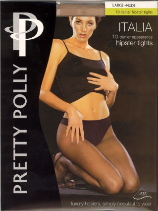 Pretty Polly Italia 10 Denier Hipster Tights