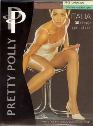 Pretty Polly Italia 30 Denier Semi Sheer