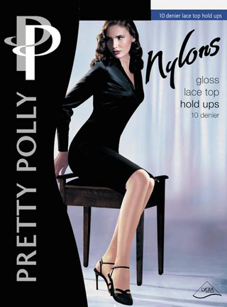 Pretty Polly Nylons Gloss 10 denier Hold Ups
