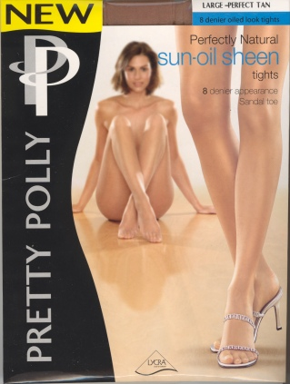 Pretty Polly Perfectly Natural Sun-oil Sheen Tights