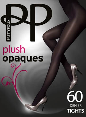 Pretty Polly Plush Opaque Tights
