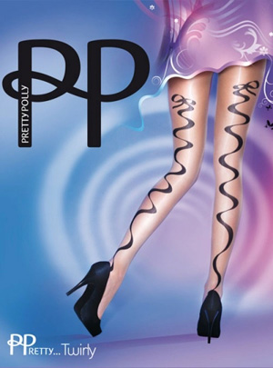 Pretty Polly Premium Ribbon Backseam Tights