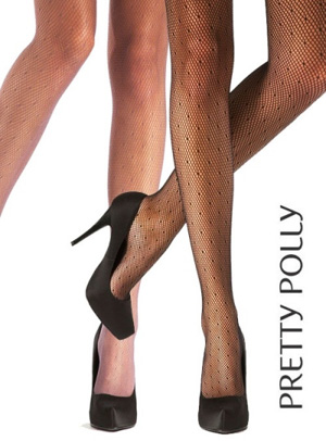 Pretty Polly Spot Fishnet Tights
