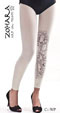 Zohara Leggings with Medusa Tattoo_2