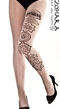 Zohara Tights with Large Tattoo_2