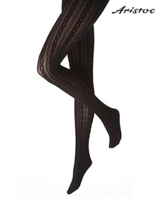 Aristoc_Cable_Opaque_Tights