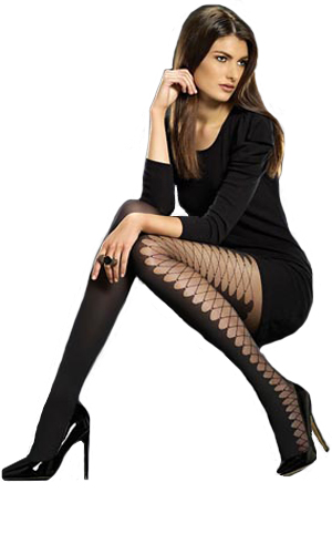 Levante Laced Side Tights