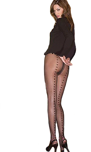 Luisa Maria Lugli Love Line Tights