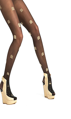 Pretty Polly House of Holland 'The House' Tights
