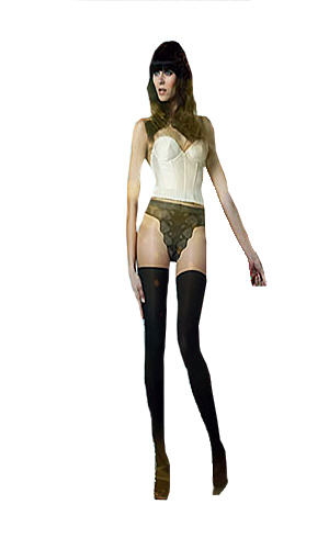Pretty Polly Absolute Legs Mock Hold-Up Tights