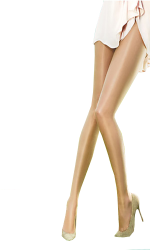 Pretty Polly Naturals 8 Denier Just Oiled Tights