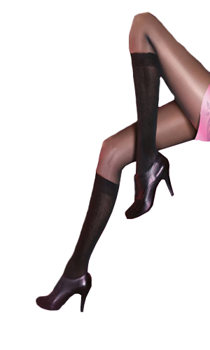 Pretty Polly Secret Socks Sheer Tights
